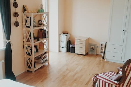 Bright room with a balcony - Vilnius - Wohnung