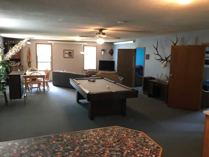 Event getaway minutes from Downtown