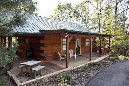 Bear Cabin with Hot Tub - Tellico Plains
