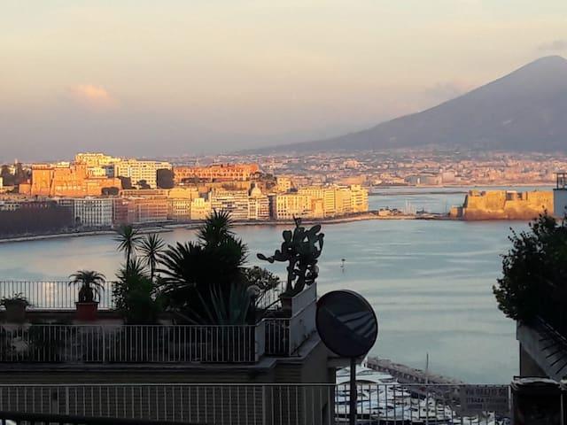 Orazio on the castle