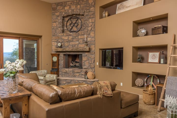 Cozy up in the living room!  Enjoy all areas of the house!