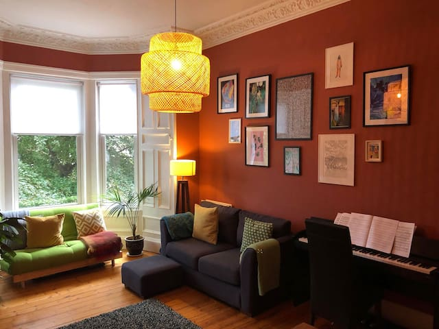 Cosy single room in a friendly and welcoming flat