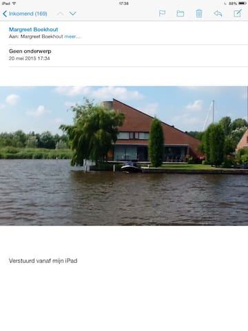 Unieke stadsvilla aan het water - Leeuwarden