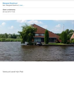 Unieke stadsvilla aan het water - Leeuwarden - Huvila