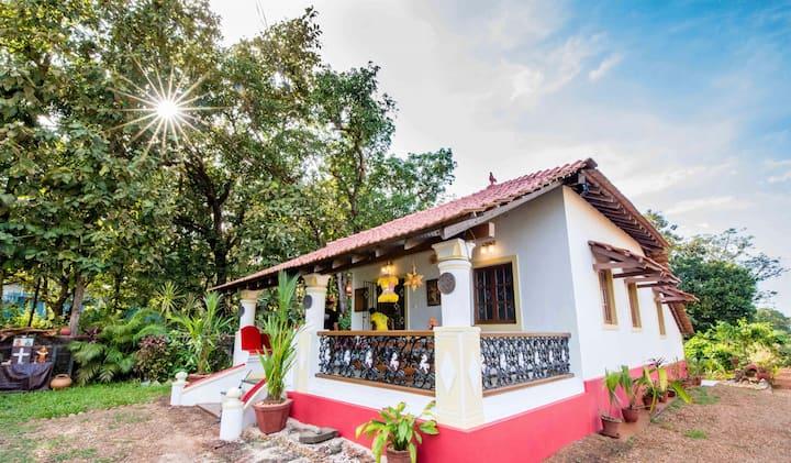 Indo Portuguese House 4 StarVilla  ,Divar Island
