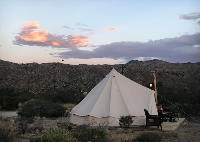 Come Star Gaze in The Sands of Time Yurt