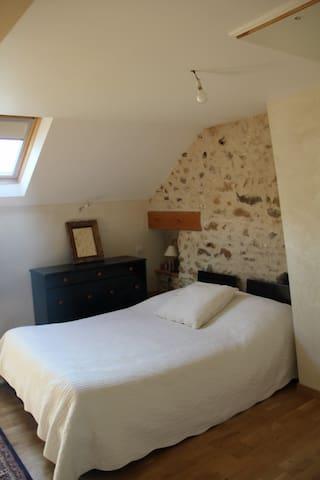 Chambre 1 (Ferme du Vexin français) - Neuilly-en-Vexin - Bed & Breakfast