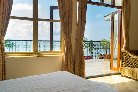 SEA VIEW ROOM 1 With A Private Balcony DONA PAULA