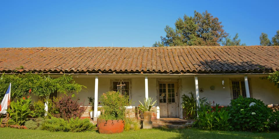 Live in an historic Chilean house!