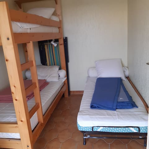 Chambre version 3 lits