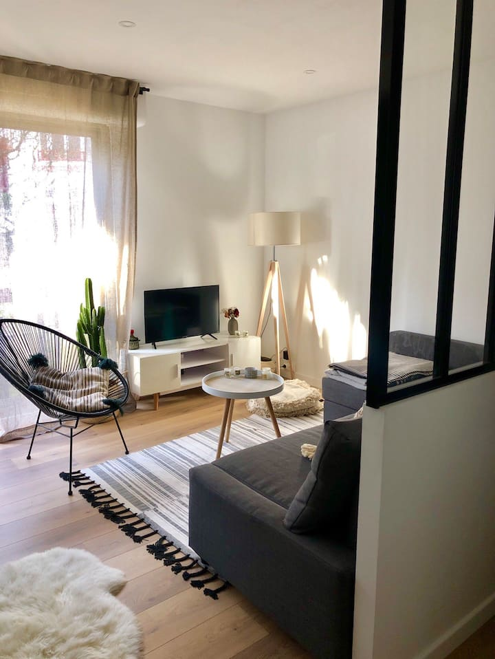 Biarritz: Appartement moderne proche centre/plages