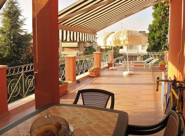App.al mare Lido di Pomposa con piscina e terrazzo