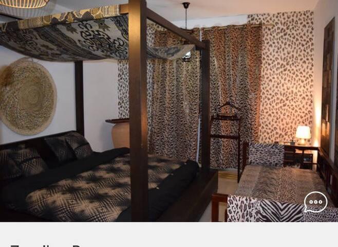Zanzibar room in Karibu Residence