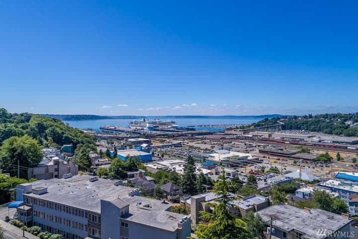 2 Bdrm Home in the Heart of Seattle- WITH A VIEW!