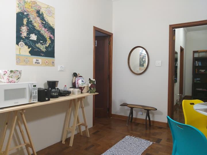 Apartamento Exclusivo, com ângulo lanche Pinheiros