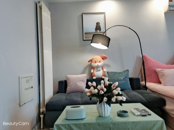 MK小清新公寓(近万达广场,近徐州东站)