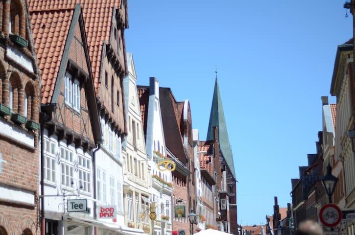 Super zentrales Zimmer - Lüneburg - Apartmen