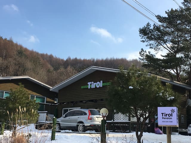 Tirol Pension - Bongpyeong-myeon, Pyeongchang-gun - Pension (Korea)