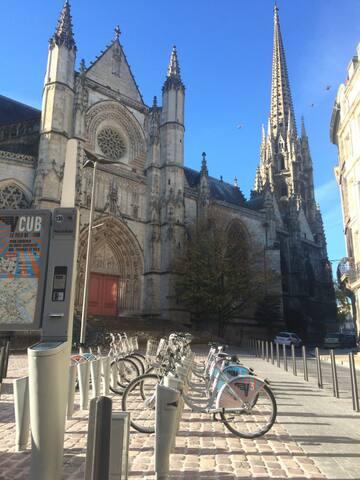 La station de vélo VCUB!