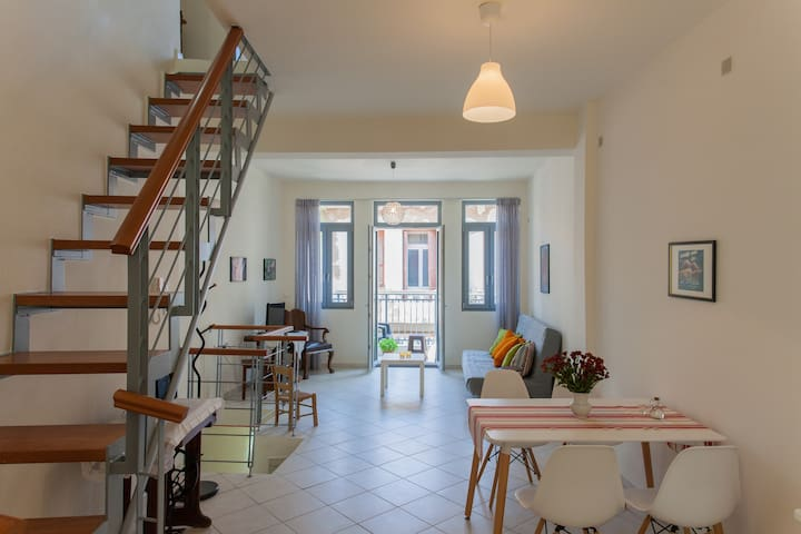 Charming Old Town house - a few steps to the beach - Rethymno - Huis