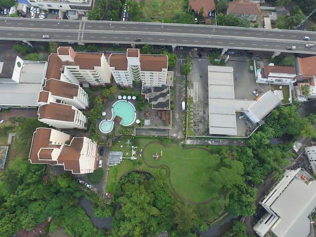 Cozy for Stay  1 BR, 2BR and 3BR - Jakarta Selatan - Leilighet