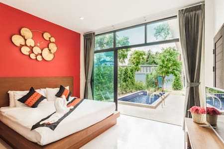 2LA#  -30%: Cozy Private Pool Villa,Comfy Bed,Wifi - Ko Samui - Villa