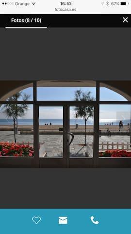 Loft de 20 metros en paseo maritimo - Castell-platja d'aro - Loft