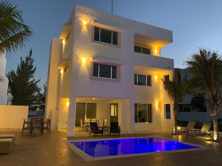 Casa palmeras Uaymitun