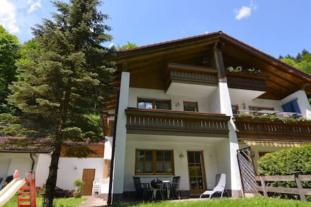 Apartment in Berchtesgadener Land with balcony and a view of the Watzmann
