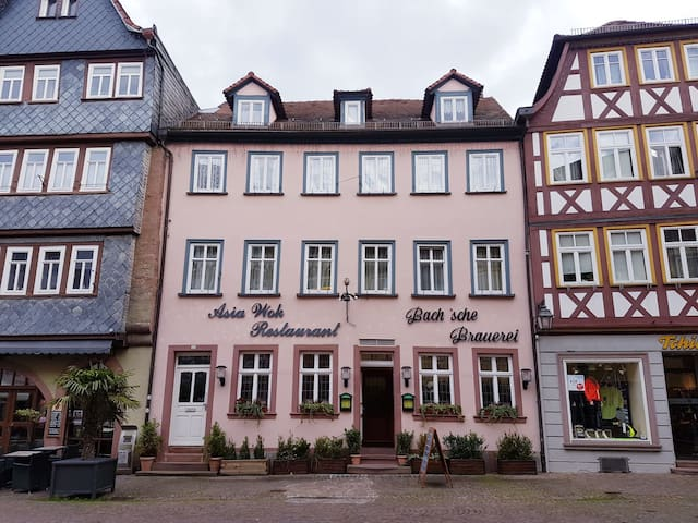 Holiday apartment in the market place, 2nd floor