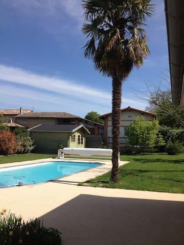 Maison moderne+piscine 20' Toulouse - Bruguières - Casa
