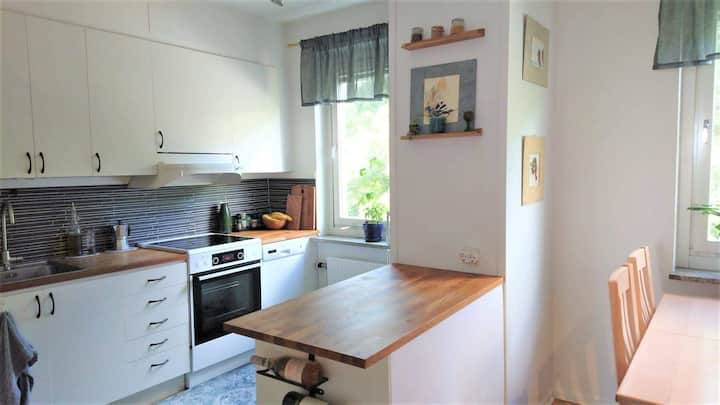 Entire apartment 53m² with studio/baby room Bromma