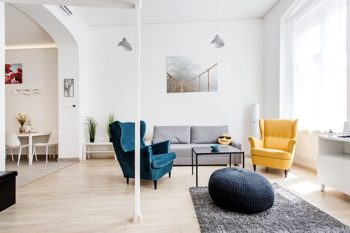 Spacious Flat In The Heart Of The City