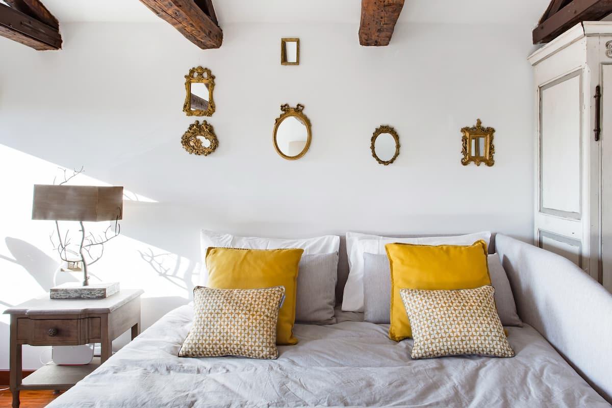 Nido sui tetti veneziani con terrazza incantevole