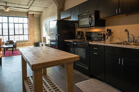 Historic Millwork Warehouse Loft
