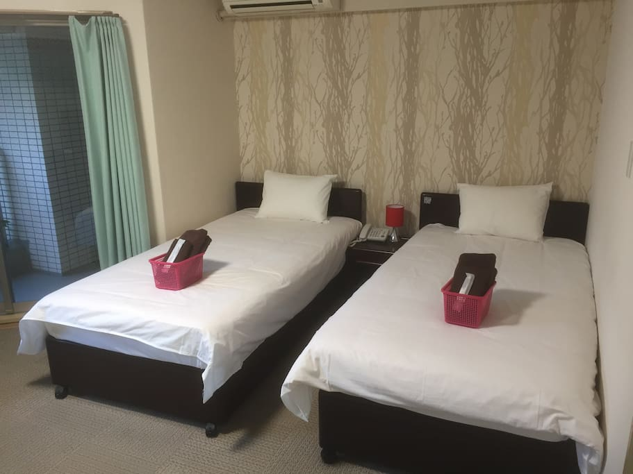 Welcome to our lovely room! Please make yourself feel at home.