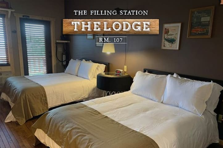 """The Filling Station"" Lodge Room 107"