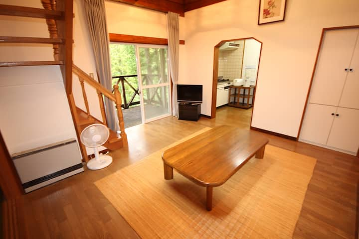 Nature Resort in Kuma Deluxe Type, Private cottage