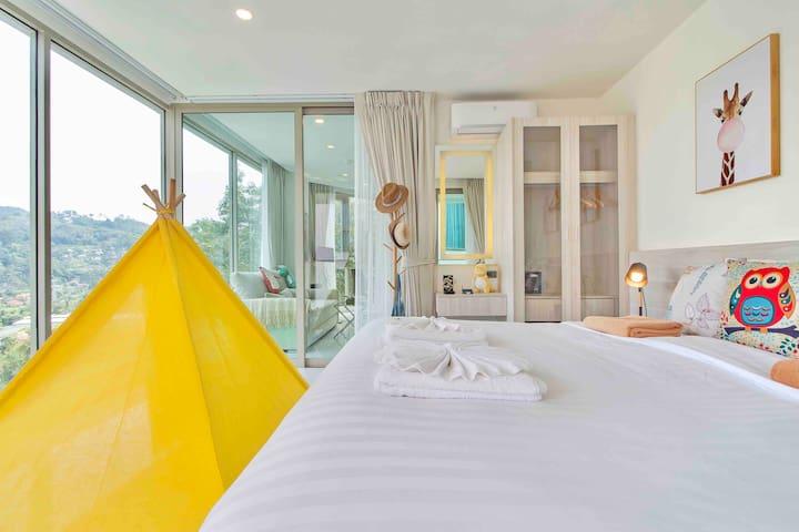 Best Apartment Sea&Mountainview Kamala Beach