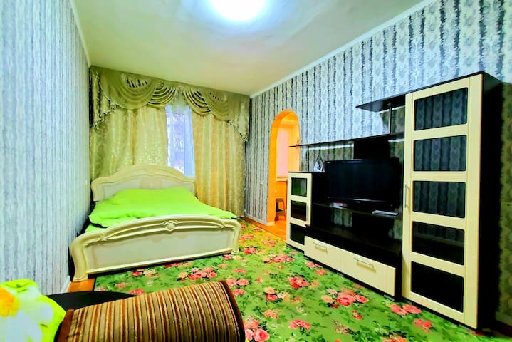 Апартаменты с одной спальней(Центр города)