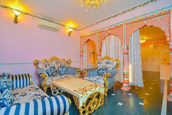 River facing Super-luxury Maharaja suite @ Siolim - Siolim