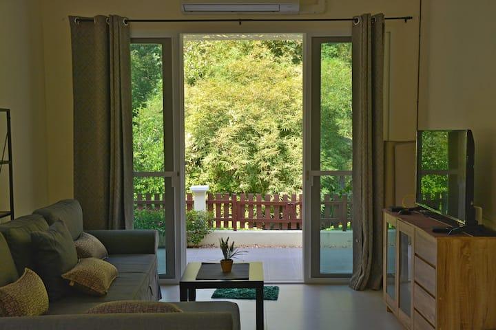 Lush garden home 2BR-longstay discount