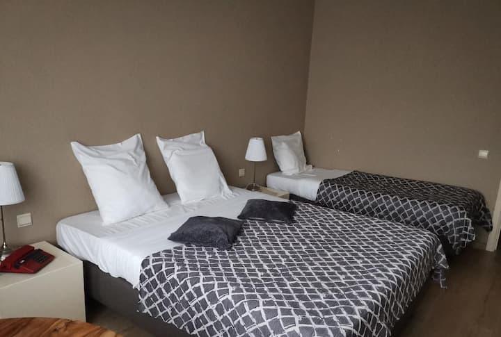 Chambre d'hôtel 3p