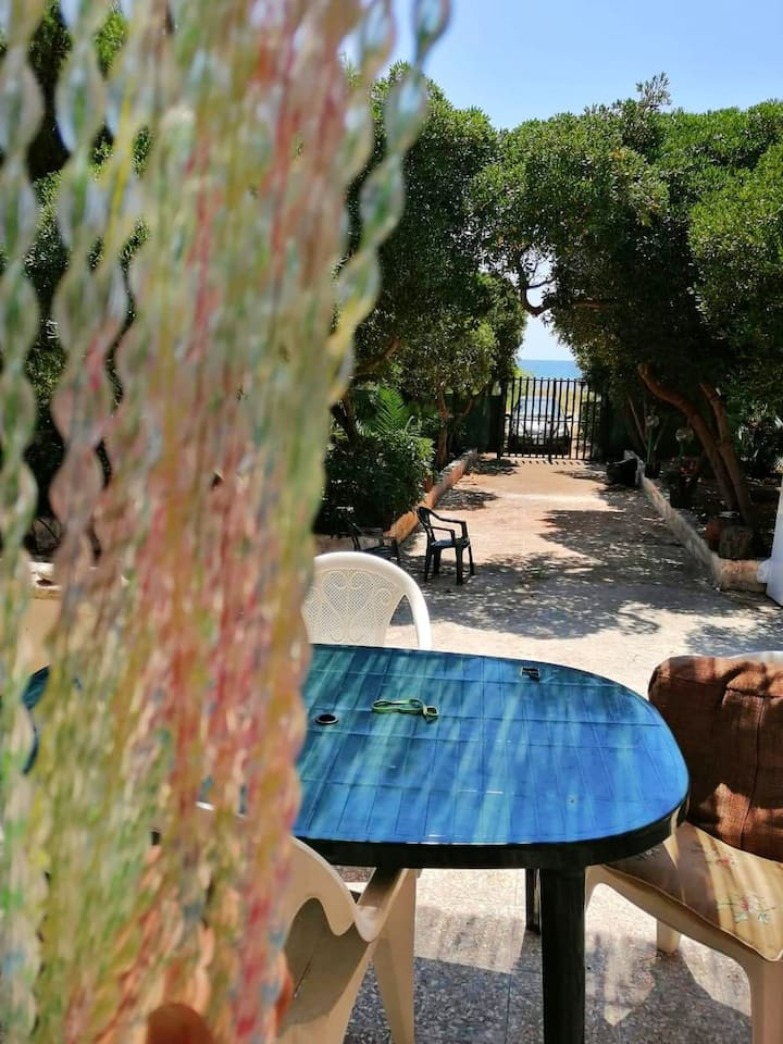 House with 2 bedrooms in Manduria, with furnished terrace and WiFi - 20 m from the beach