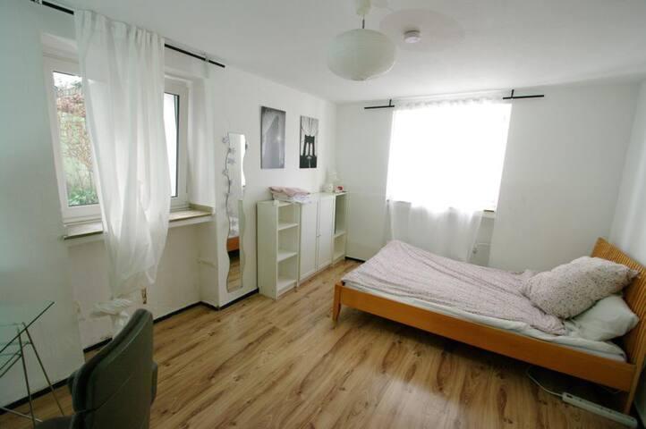 comfortable apartment in central Düsseldorf