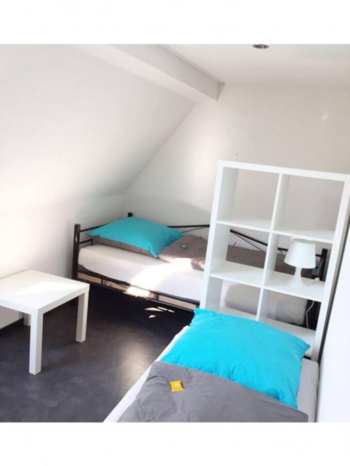Wohnung für bis zu 4 Personen geeignet