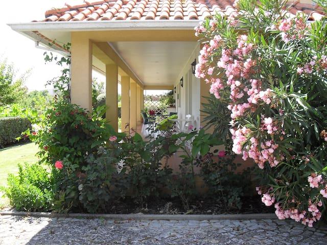 Bonita moradia com grande jardim - Lombo Meão - House