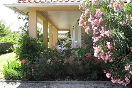 Bonita moradia com grande jardim - House
