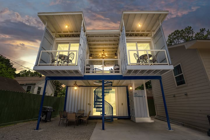 East Downtown Micro-Luxe Container Living Pod #9