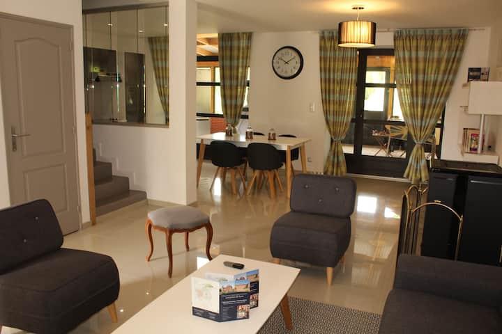 Maison n°7 avec 4 chambres à la campagne
